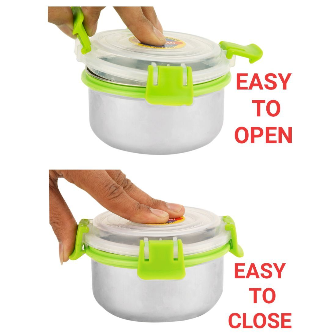 GRANIFY LUNCH BOX 3 STEEL CONTAINERS