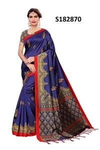 New mysore  design style jhalar style  kalamkari silk saree