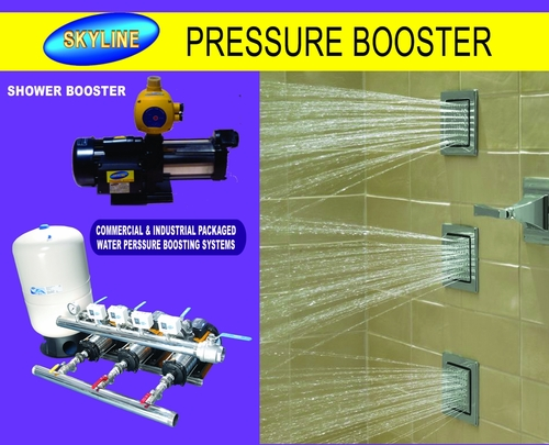 Industrial Erode Shower High Pressure Booster Pump