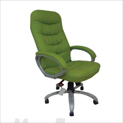 Green Cushioned Executive Office Chair