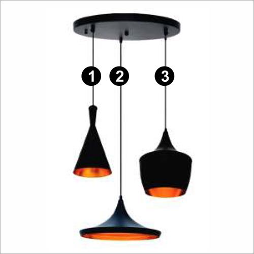 9 W LED Bulb Aluminum Deco Hanging Light