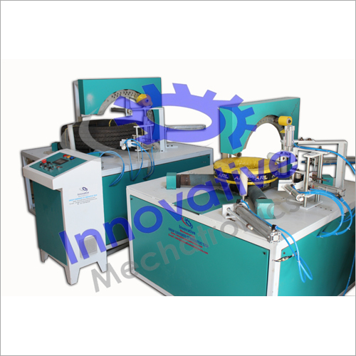 Automatic Coil Stretch Wrapping Machine