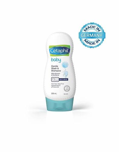 CETAPHIL Baby Gentle Wash And Shampoo (230ml) - Pack of 2
