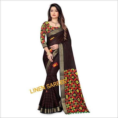 Printed Liner Sarees