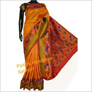 Designer Paithani Handloom Sarees