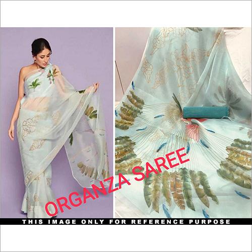 Organza Saree