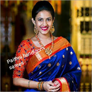 Paithani Handloom Sarees