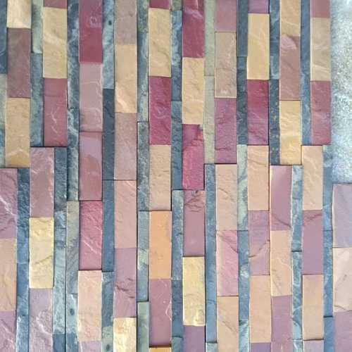 Multi colour wall panel