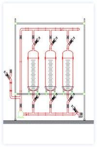 Glass Storage Reactor