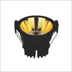 Golden And Black LED COB Light
