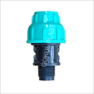 4 Inch PP Male Threaded Adapter