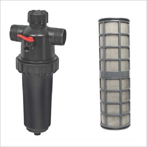 PLASTIC SCREEN FILTER FLANGED