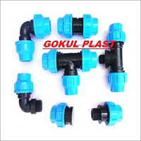 Compression MDPE Pipe Fitting