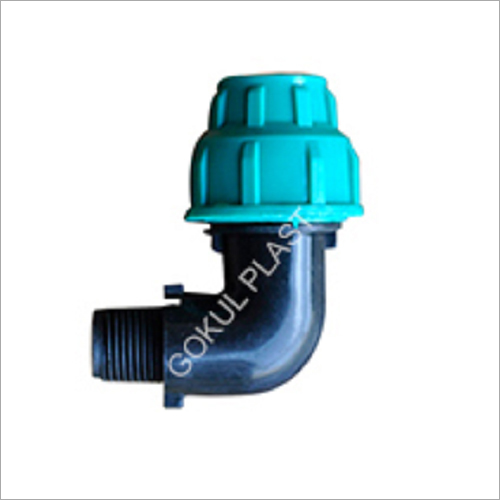 110 MM MDPE Male Threaded Off-Take Elbow
