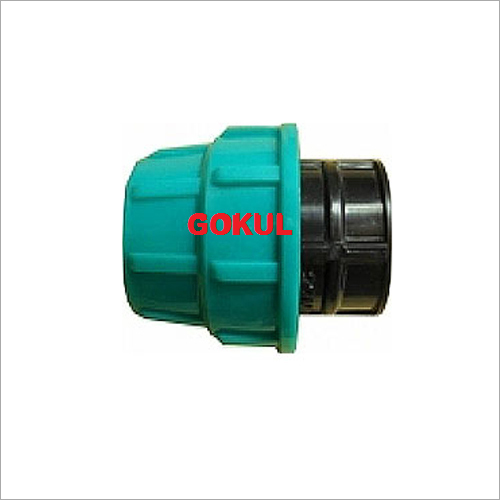 4 Inch MDPE Compression End Cap