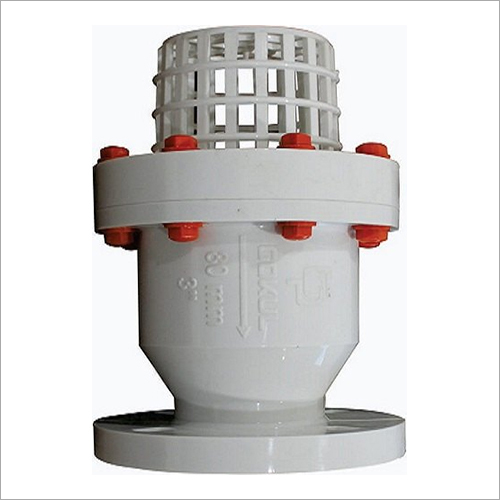 PP Flange End Foot Valve