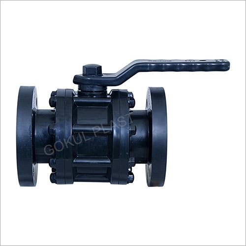 Flange End PP Foot Valve
