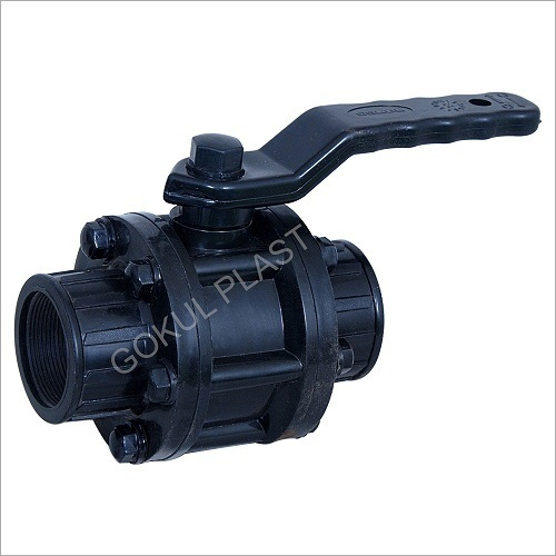 PVDF Screwed End Ball Valve