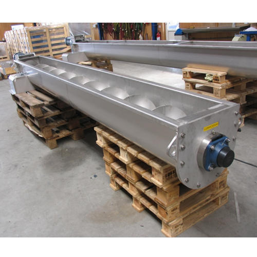 Mild Steel Semi-Automatic Single Screw Conveyor