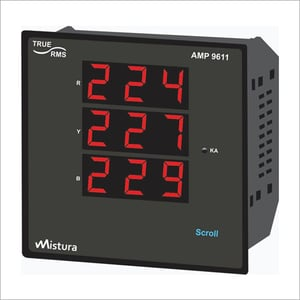 3 Phase Multi Function Meter And Power Analyzer