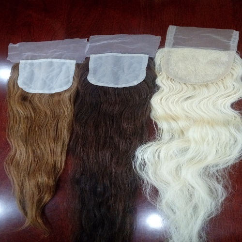HUMAN LACE WIG LACE CLOSURE HAIR