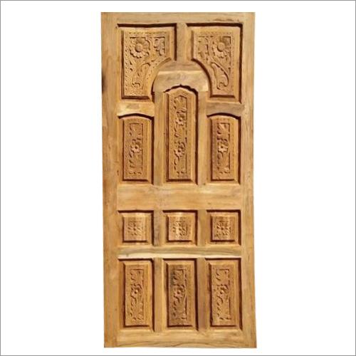 Old Modular Teak Wood Door