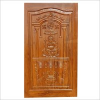 Single Teak Wood Door