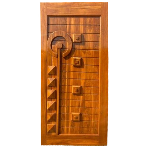 Solid Panel Teak Wood DOor