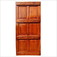 Solid Wooden Teak Door