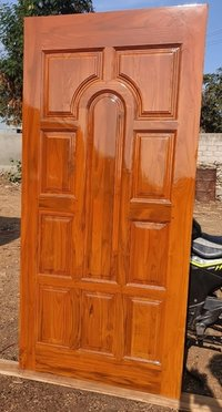 Teak Wood Main Enterence Door