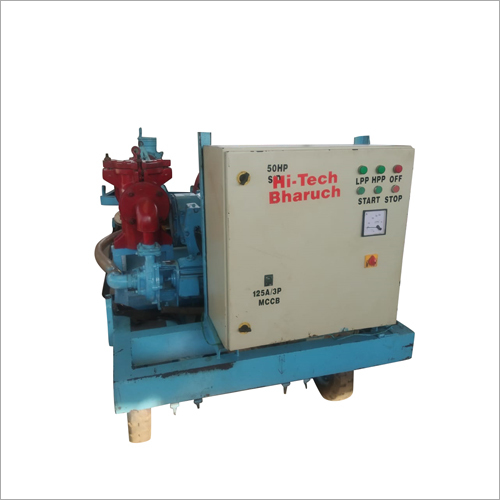 Industrial Hydrojet Cleaning Machine