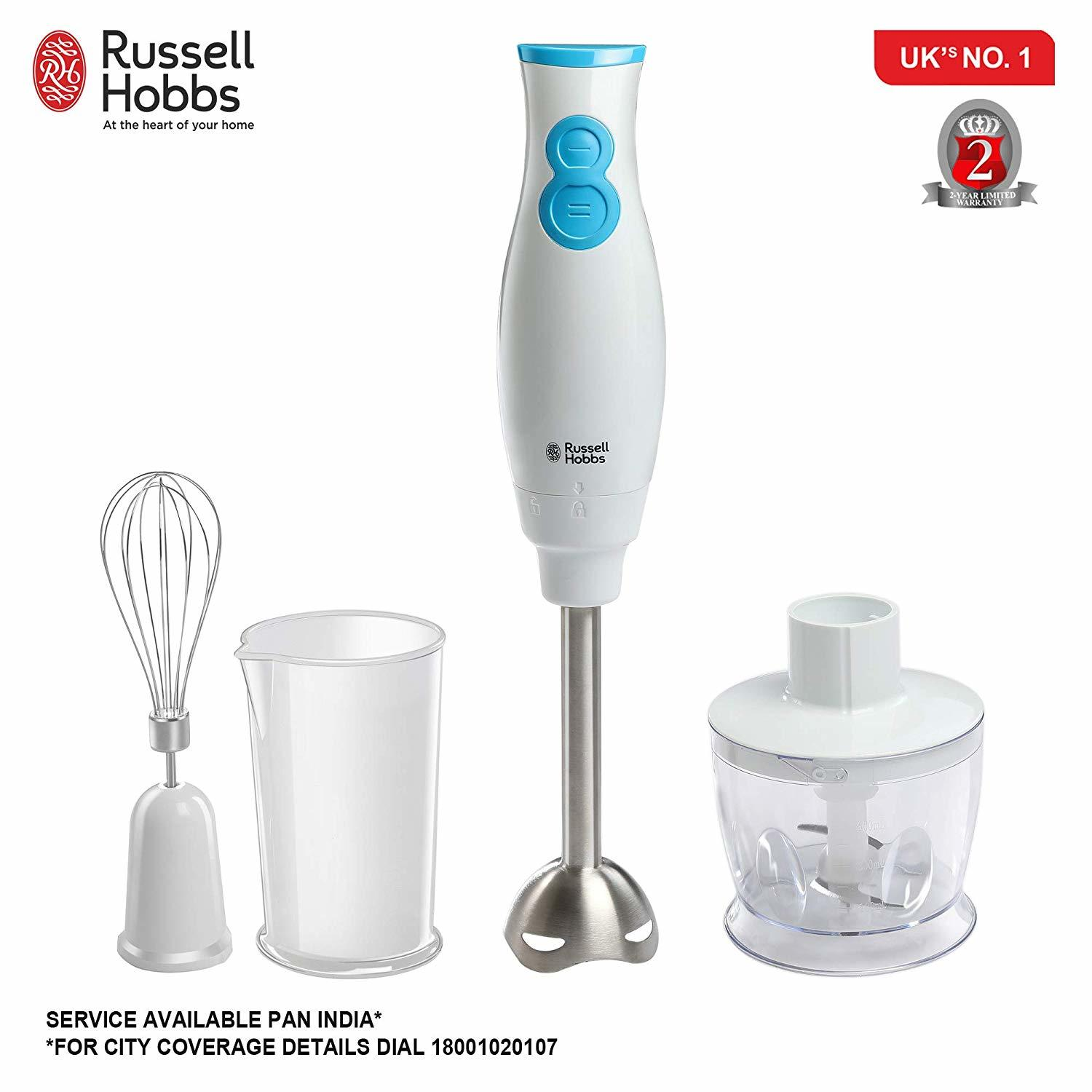 Hand Blender with Chopper 400 Watt 4 in 1