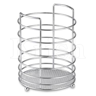Wire Single Cutlery Holder w 3 Partition
