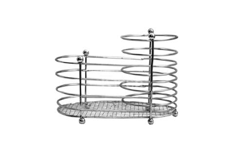 Wire Double Cutlery Holder