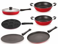 Nirlon Non-Stick Coated Dishwasher Safe 6 Piece