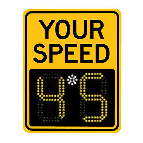 Radar Speed Sign