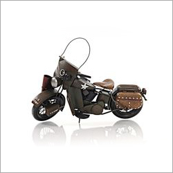 Decorative Metal Bike Showpiece