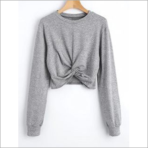 Ladies Crop Sweater