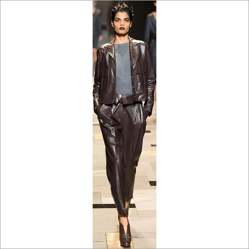 Ladies Leather Pant