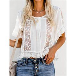 Ladies Lace Top
