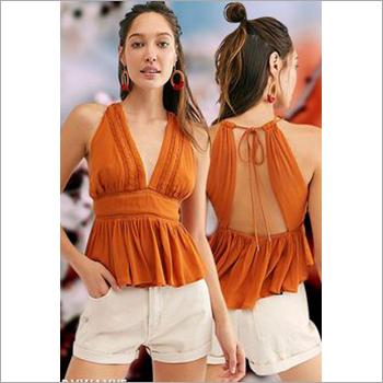 Ladies Designer  Backless Top