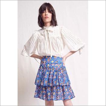 Ladies Short Frill Skirt Dress
