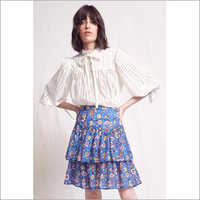 Ladies Short Frill Skirt Dress