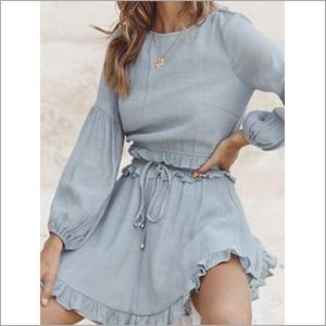 Ladies Short Skirt Dress