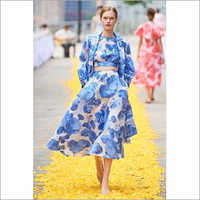 Ladies Umbrella Skirt Dress