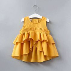 Kids Sleevless Frill Top