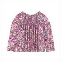 Baby Girls Smocked Top