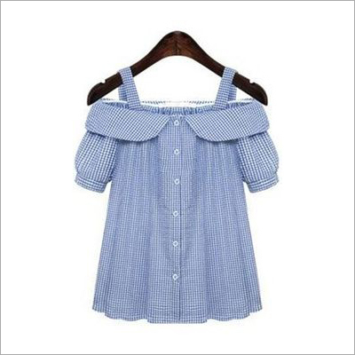 Girls Yarn Dyed Strap Top
