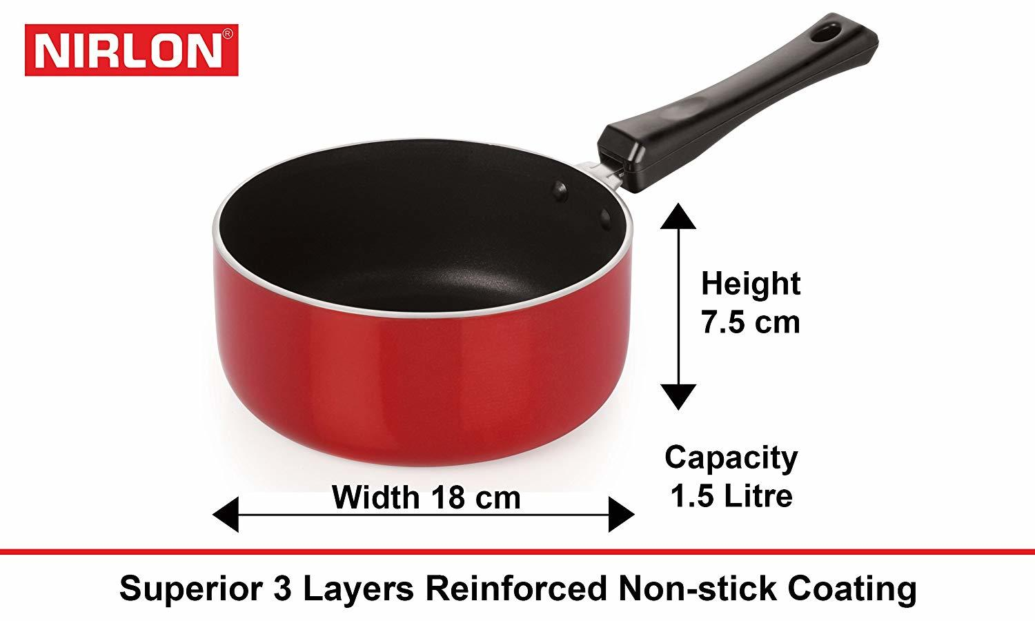 Nirlon Non-Stick Gas Compatible Heat Resistance Cookware