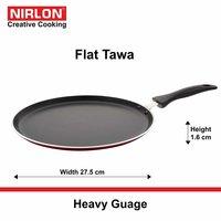 Heavy Gauge Non Stick Flat Pan Flat Dosa Tava